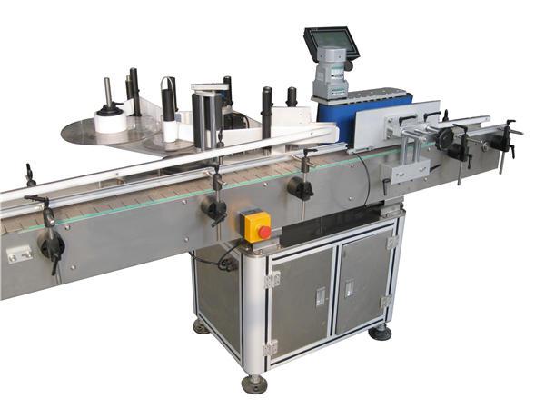 Fabricant automatique de machine à étiquettes de bouteille ronde d'autocollant
