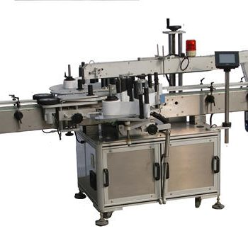 Plastic Bottle Double Sides Labeling Machine for shampoo