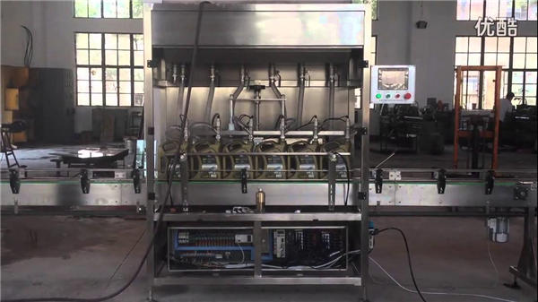 1-5L Piston Automatic Oil Bottle Filling Machine