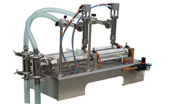 Máquina de enchimento de mel semi-automática Alta precisão de preenchimento