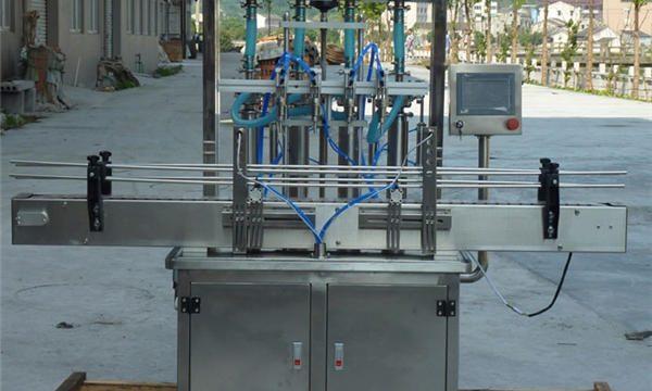 Máquina de enchimento automática de pasta de amendoim