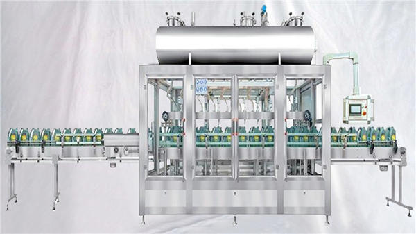 Weighing Rotary Filling Machine For Lubricants Oil