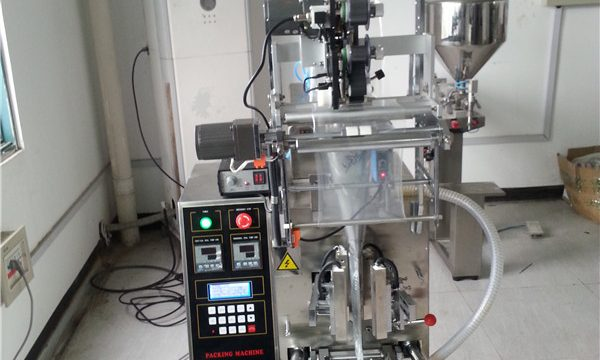 Hot Sachet Shampoo Filling Machine