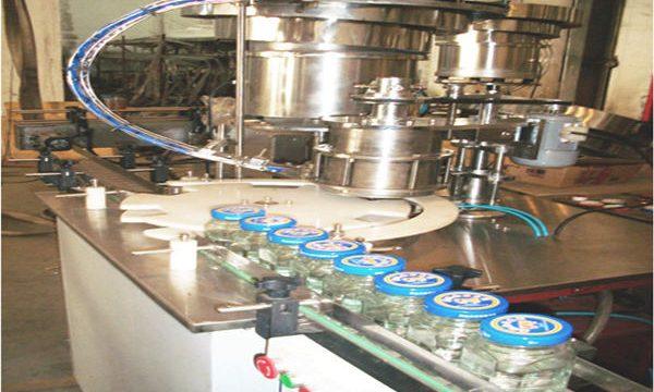Linha de enchimento de mel 50-500ml, Máquina de engarrafamento de mel, Máquina de embalagem de jarinho de mel