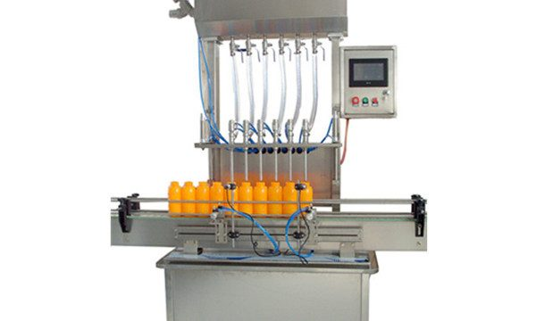 6 Head Automatic Liquid Filling Machine For Olive Oil / Syrup / Pharmacy