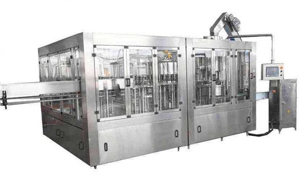 8000BPH Otomatik Hindistan Cevizi Yağı Dolum Makinası Hattı
