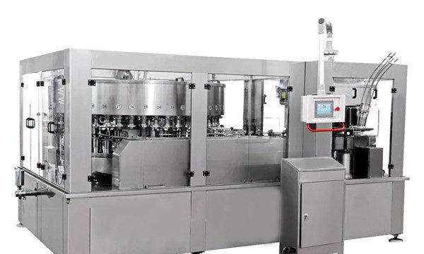 Machine de remplissage de canettes d'aluminium pour boissons non alcoolisées