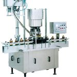 Automatic Single Head Plastic Bottle Ropp Screw Capping Machine