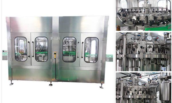 Automaattinen oluen vodkan viinilasipullojen täyttökone