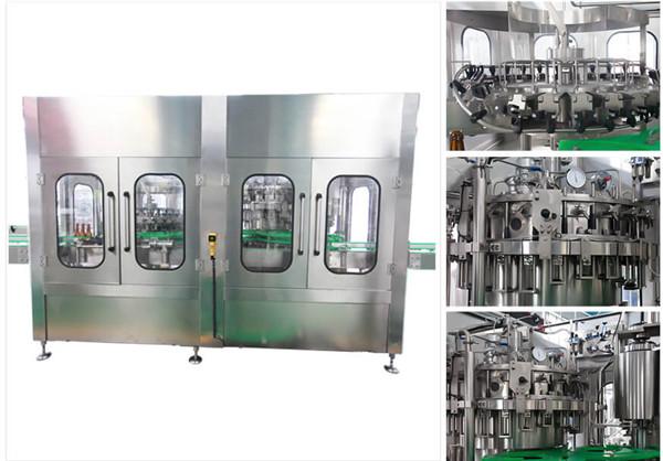 Automatic Beer Vodka Wine Glass Bottle Filling Machine