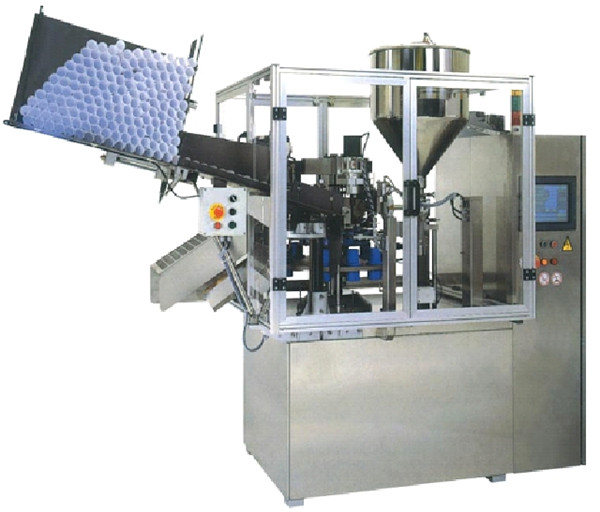 Automatic Ultrasonic Plastic Tube Filling Sealing Machineottle
