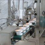 Автоматична машина для ущільнення чашки морозива