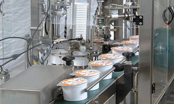 Automatický stroj na plnění zmrzlinových pohárů