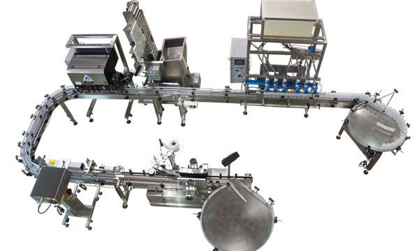 Automatic Pressure Liquid Filling Line