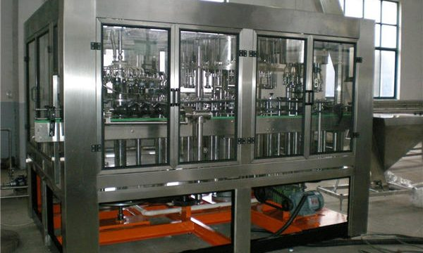 Automatic Glass Bottle Water Filling Machine