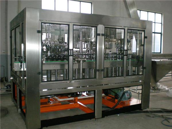 Machine de remplissage automatique de bouteilles en verre