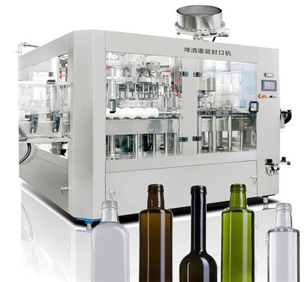 맥주 캔 액체 충진 기계