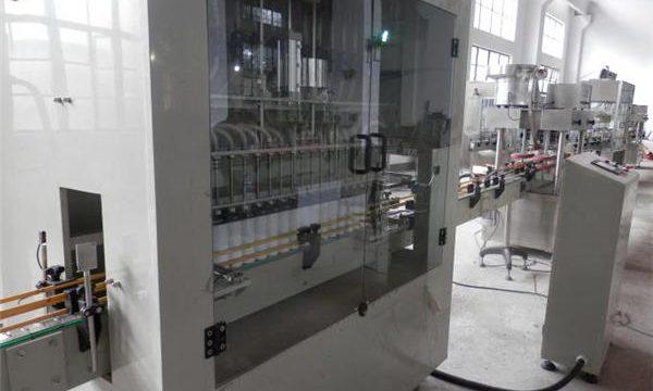 Paslanmaz Çelik Tam Otomatik Çamaşır Suyu Dolum Makinesi