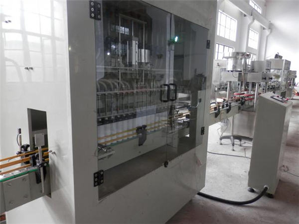 Stainless Steel Full Automatic Bleach Filling Machine