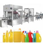 Ang Gravity Bleach Filling Machine, Bleach Filling Production Line