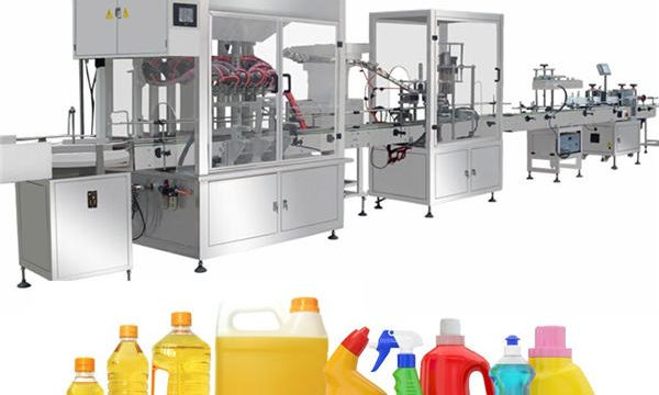 Gravity Bleach Filling Machine ,Bleach Filling Production Line