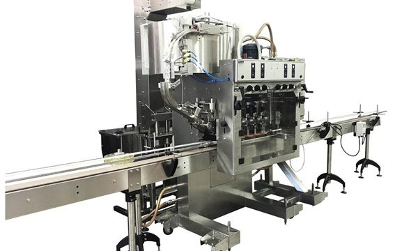 Fuldautomatisk Plastic Bottle Capping Machine