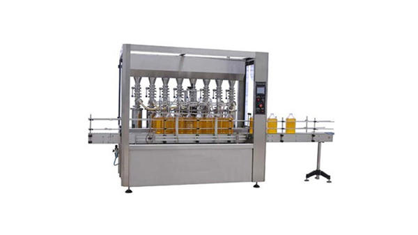 Fully Automatic Lubricant Oil 5L Bottle Filling Machine