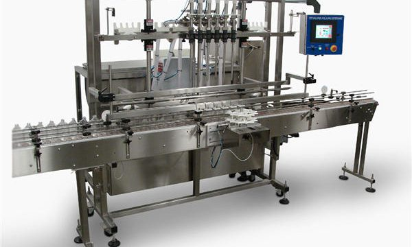 Automatic Liquid Soap Bottle Filling Machine