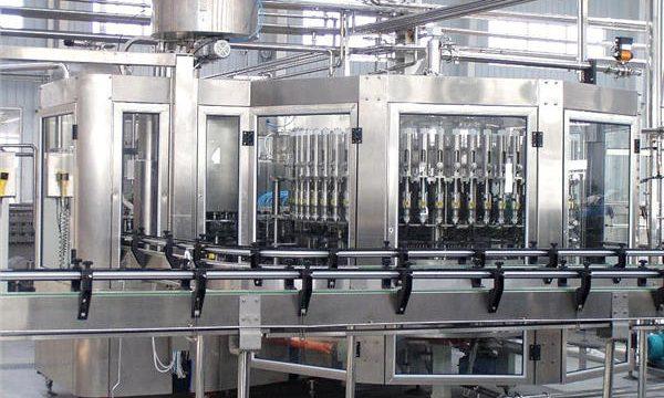 250 مل التلقائي زجاجة شامبو الزجاج ملء آلة كابر المعدات