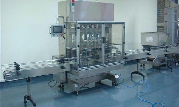 Machine de remplissage liquide automatique de gravité de temps de vinaigre