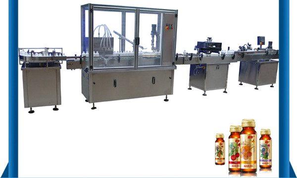 China-Lieferant Automatische Honig-Flaschen-flüssige Füllmaschine