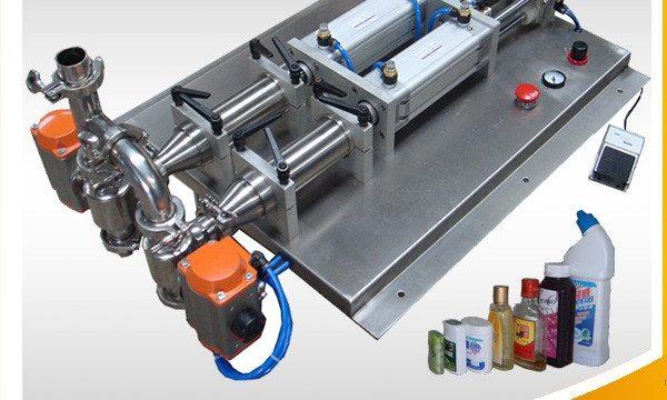 半自動消泡性腐食性液体充填機