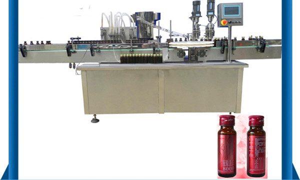 Prix bas semi-automatique de machine de remplissage liquide de vide