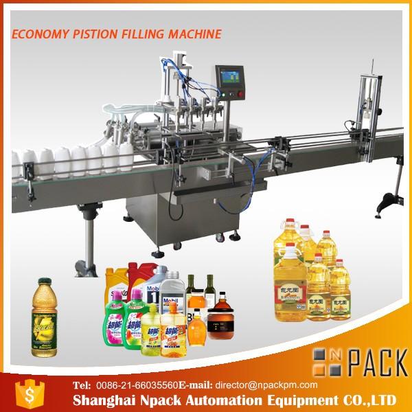 machine de remplissage d'huile de cuisine