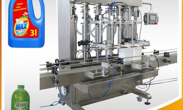 Doppelkopf-vollautomatische Kolben-Typ-Flüssigkeits-Füllmaschine