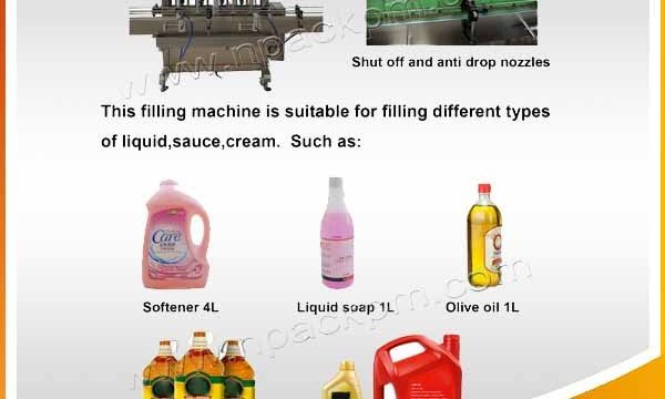 Automatic 2, 4, 6, 8, 10, 12 Heads Edible Cooking Oil Filling Machine