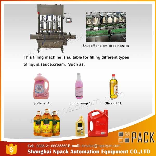 Automatic 2, 4, 6, 8, 10, 12 Heads Edible Cooking Oil