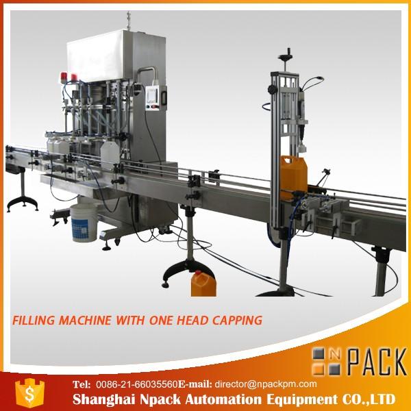 Machine de remplissage liquide cosmétique à grande vitesse de vente de la Chine