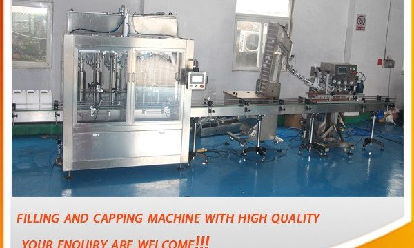 High Efficient 5 Liter Full Automatic Oil Filling Machine
