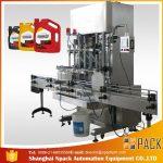 500ml-2L automatische vloeibare wasmiddel vulmachine / wasvloeistof vulmachine