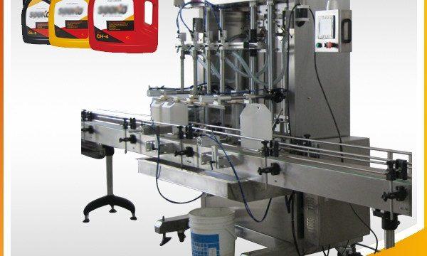 500ml-2L 자동 액체 세제 충전 기계 / 세탁 액체 충전 기계