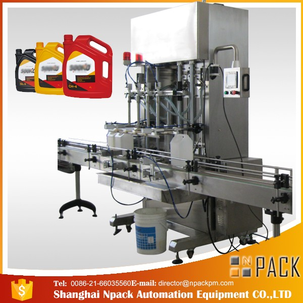 Machine de remplissage de détergent liquide automatique de 500ml-2L / machine de remplissage liquide de lavage