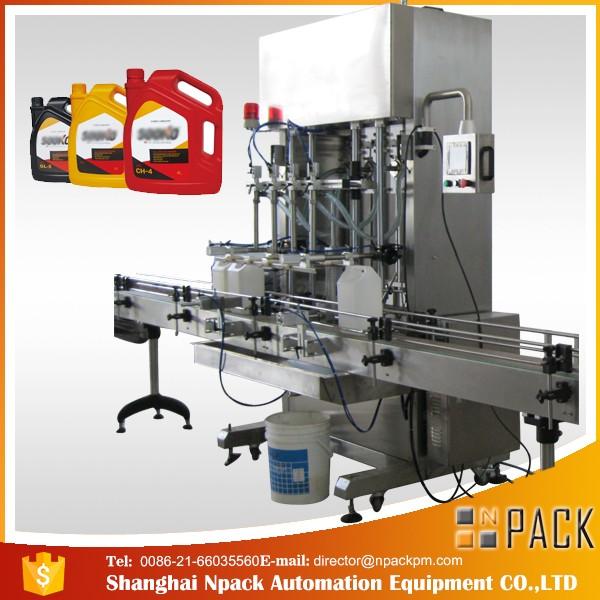 500ml-2L Automatic Liquid Detergent Filling Machine / washing liquid filling machine
