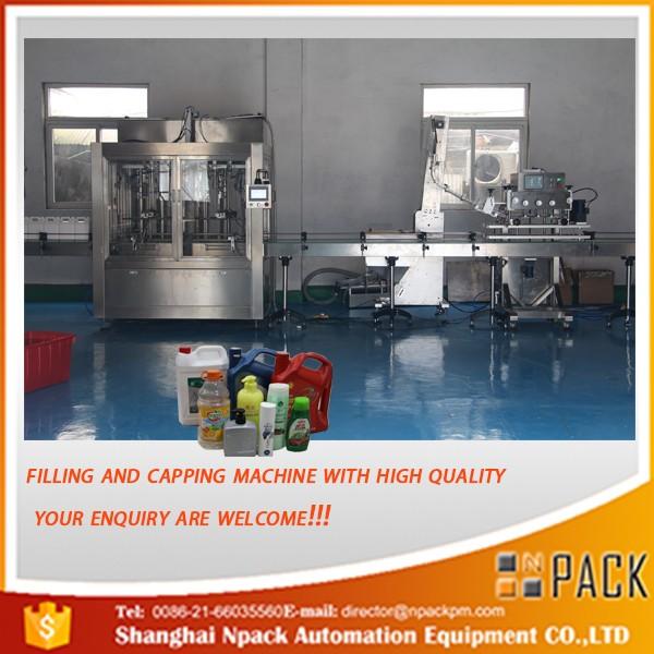 5L ~ 30L Pesticide, Pesage d'huile comestible et machine de remplissage