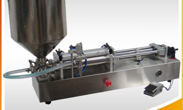 Pagdumala sa Pneumatic Doble Heads Honey Filling Machine