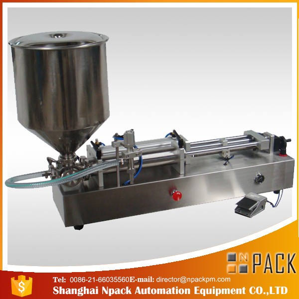 Pneumatic Control Double Heads Honey Filling Machine