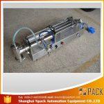 Semi-automatic Piston Filling Machine Ideal Oil Filling Machine