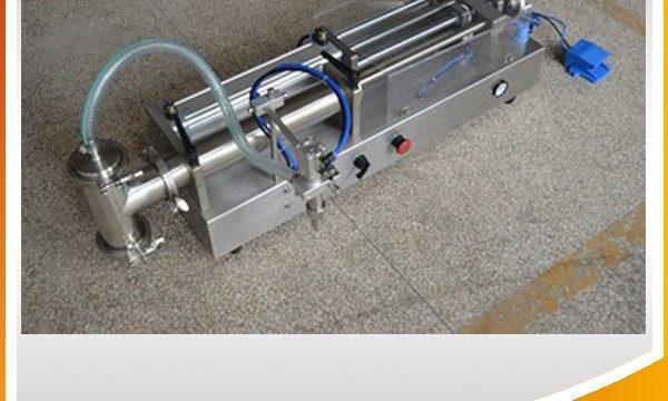 Yarı Otomatik Piston Dolum Makinesi İdeal Yağ Dolum Makinesi