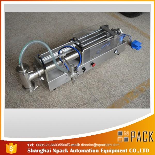 شبه التلقائي مكبس ملء آلة مثالية النفط ملء آلة