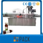 Automatic Rotary Bottle Liquid Filling Machine With Capping